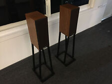 PROAC Super E.B.T. (Extended Bass Tablette) EBT Speakers w/ Durable Metal Stands