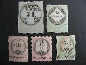 Austria-5-U-old-revenues-collector-believed-had-print-plate-varieties-errors