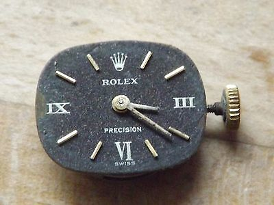 GOOD VINTAGE ROLEX PRECISION CAL 1400 WRISTWATCH MOVEMENT WORKING