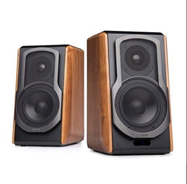 Edifier S100db Hi Fi 2 0 Active Bookshelf Bluetooth Speakers With Tweeter For Sale Online