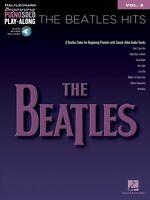 The Beatles Hits Sheet Music Beginning Piano Solo Play-along Book 000316164