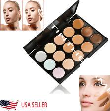 15 Colors Contour Concealer Face Cream Makeup Palett Professional Salon Party
