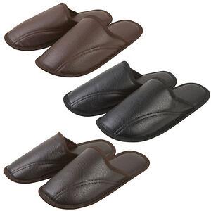 Mens-Memory-Foam-Sole-Mule-Slippers-Sizes-UK-6-uk-11