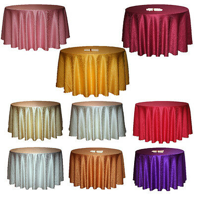 New Round Tablecloth Table Cover for Restaurant Wedding Home Decor Dining Party