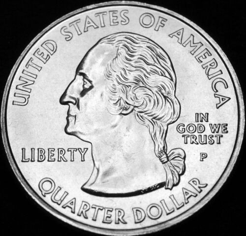 Mint Roll 2007 P  Utah State ~ Washington Statehood Quarter ~ From U.S