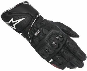 NEU-Alpinestars-GP-Plus-R-Racing-Handschuhe-schwarz-L-9-Motorradhandschuhe