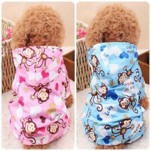 Affe Muster Haustier Hund Regenponcho Regenmantel Regenjacke Kostume