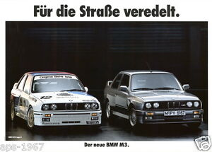 BMW E30 M3 DTM Motorsport print # 1