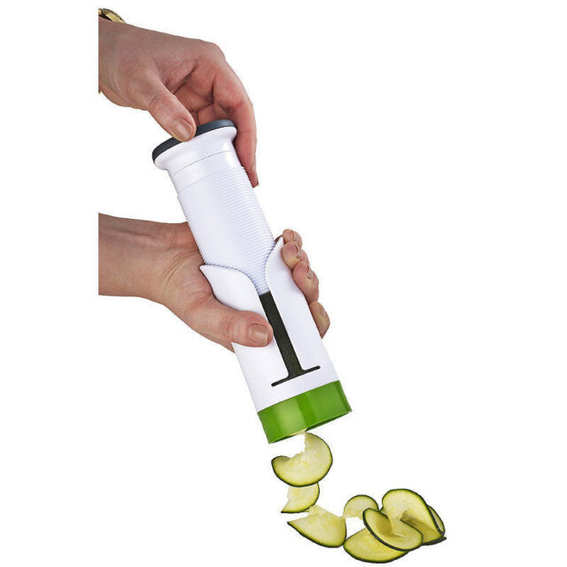 Zyliss® Hand-Held Compact & Easy-to-Use Manual Push Spiraliser