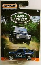 LAND ROVER FREELANDER BLUE LAND ROVER SERIES MATCHBOX DIECAST 2016 LQQK