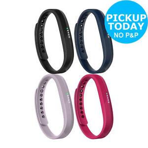 Fitbit-Flex-2-Activity-Tracker-Wristband-Monitor-Black-Lavender-Navy-Magenta