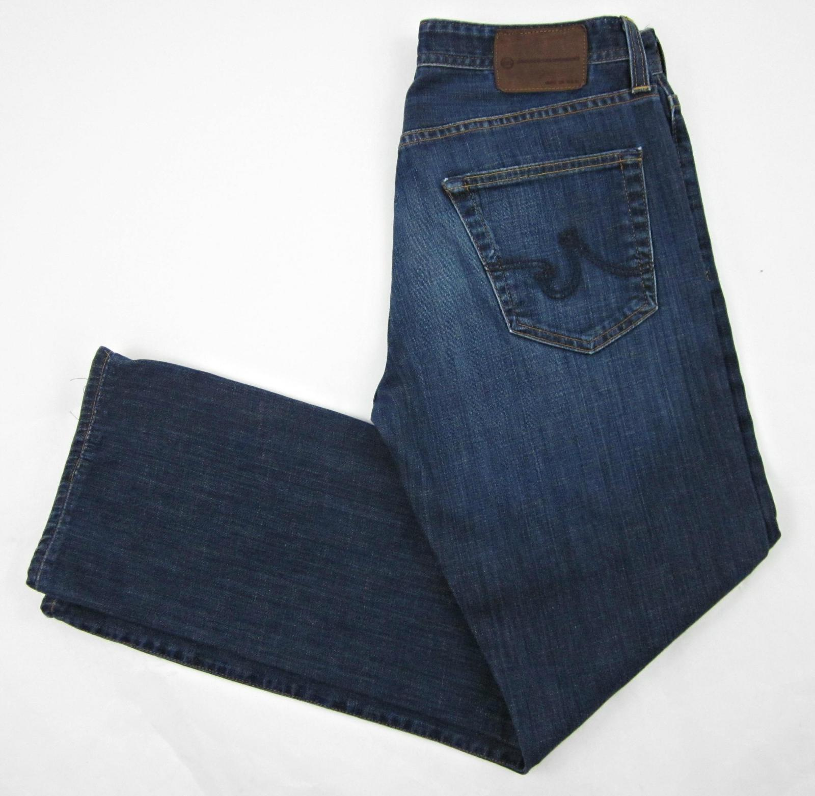 Men's AG Adriano goldschmied the Predégé Straight Leg Jeans Sz. 32x34