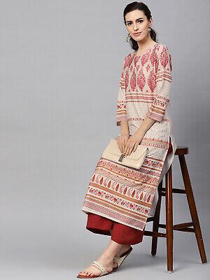 Details about  /Women Kurta Kurti Indian Bollywood Pakistani Designer Long Tunic Top Dress S 4XL