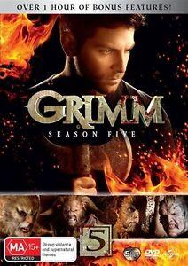 Grimm-Season-5-DVD-NEW-Region-4-Australia