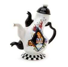 Disney Land Paris Alice In Wonderland Mad Hatter Tea Pot Cheshire Cat Gift