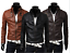 New-Men-039-s-Slim-Fit-Zipper-Designed-PU-Leather-Jacket-Coat-Free-Post-0309 thumbnail 1