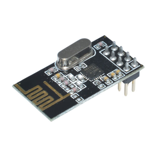 4PCS módulo Transceptor Inalámbrico NRF24L01 2.4GHz Antena 8 Pin para Arduino