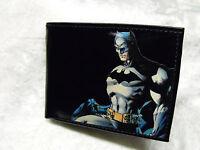 Batman Decorated Leather Wallet M190