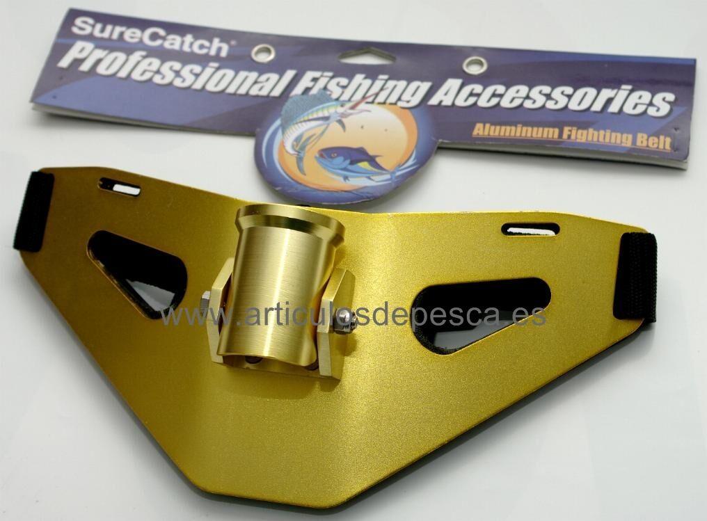 Cinturón de combate gimbal para pesca de big game Jigging Stand up SureCatch