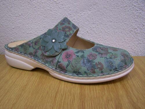 Finn Wechselfußbett Comfort Incl Davenport Baumwollbeutel Mint Blumenprint rBrwq