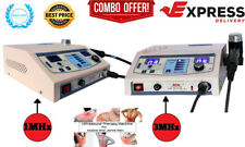 1 Mhz Ultrasound Therapy And 3 Mhz Ultrasound Therapy Machine Combo Delta Dyno