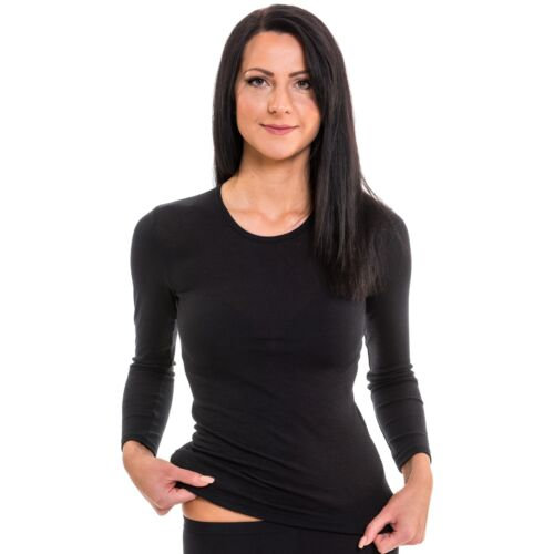 Damen langarm Funktionsshirt 61830 exclusive by HERMKO schnelltrocknend und atmu