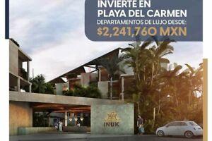 Departamentos y Estudios en Venta en PLaya del Carmen, México