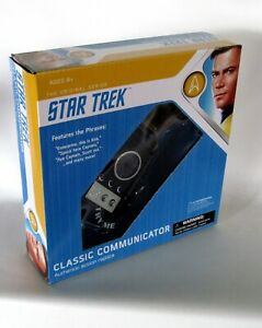 Star-Trek-Original-Series-Classic-Communicator-Authentic-Prop-Replica-NEW-FRESH