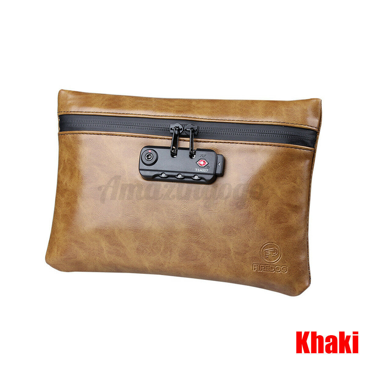 Smell Proof Bag With Password Lock Waterproof Document Files Safe Storage Case