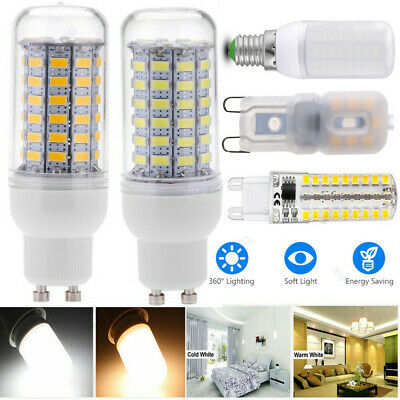 E14 E27 GU10 5730 LED Glühbirne Birne Mais Licht Leuchtmittel Sehr Hell Lampe DE