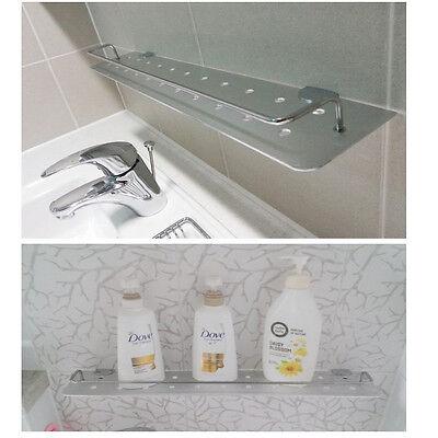 "23.6""Wall Mount Aluminum Shelf Bathroom Shower Shelf Rack Storage Home Interiors"