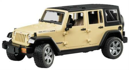 BTA02525 Bruder Jeep Wrangler Unlimited Rubicon - colors May Vary