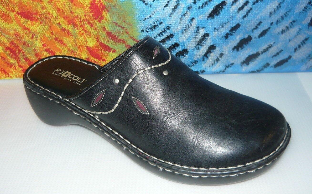 RJ Colt Desert stivali Distressed Marronee Leather Ankle stivali Crepe Sole  Sz 10
