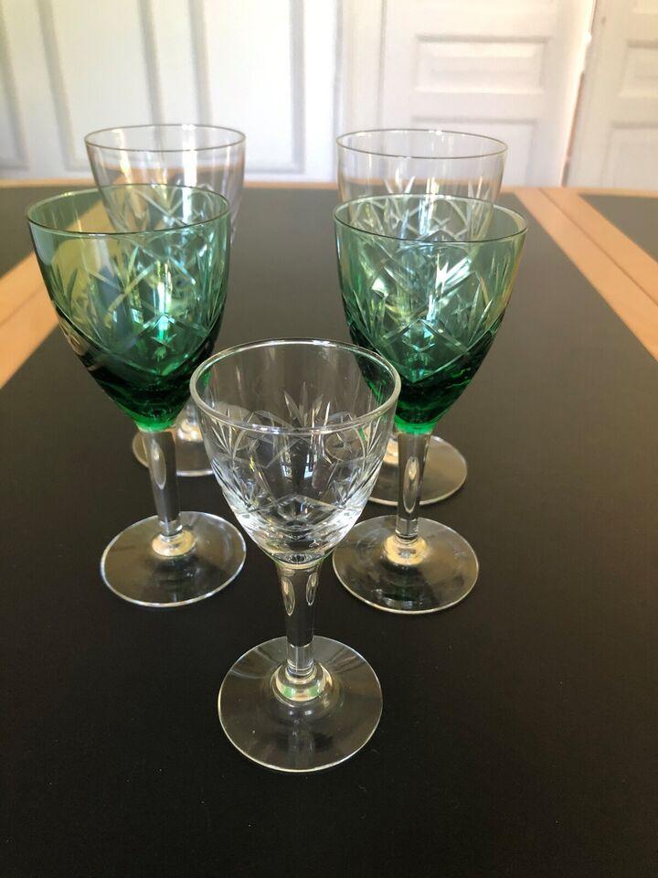 Glas, Rødvinsglas, hvidvinsglas