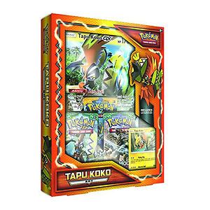 Pokemon TCG Tapu Koko Box: Includes Booster Packs + Promo Cards