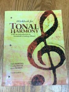 Workbook for Tonal Harmony 7th Edition NEVER used pages | eBay