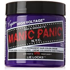 Manic Panic Semi-Permanent Hair Color Cream, Lie Locks 4 oz