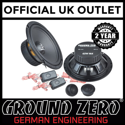 """Toyota Auris 2007 On 300 Watts 6.5/"""" 2 Way Component Front Car Speakers"""
