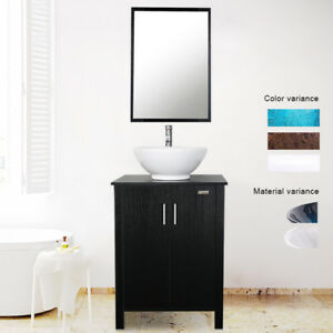 Gentil Image Is Loading Bathroom Vanity Combo W Mirror 24 Inch Round