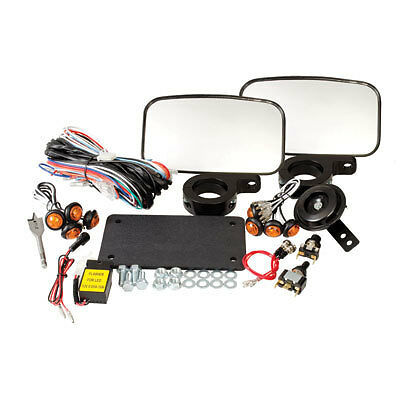 Horn /& Turn Signal UTV Street Legal Kit W// Mirrors CAN-AM Maverick 1000 XC 2016