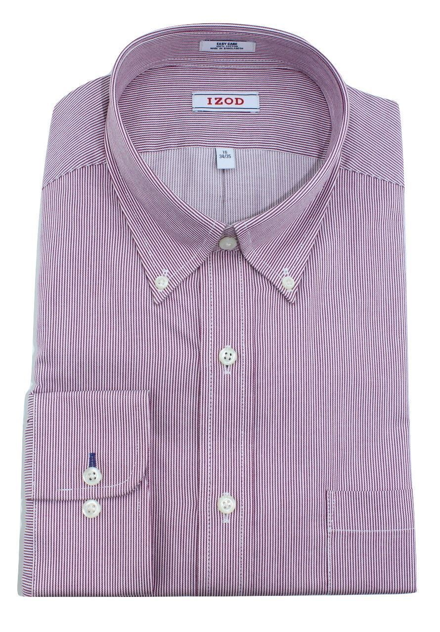 Red Bengal Stripe Button-Down