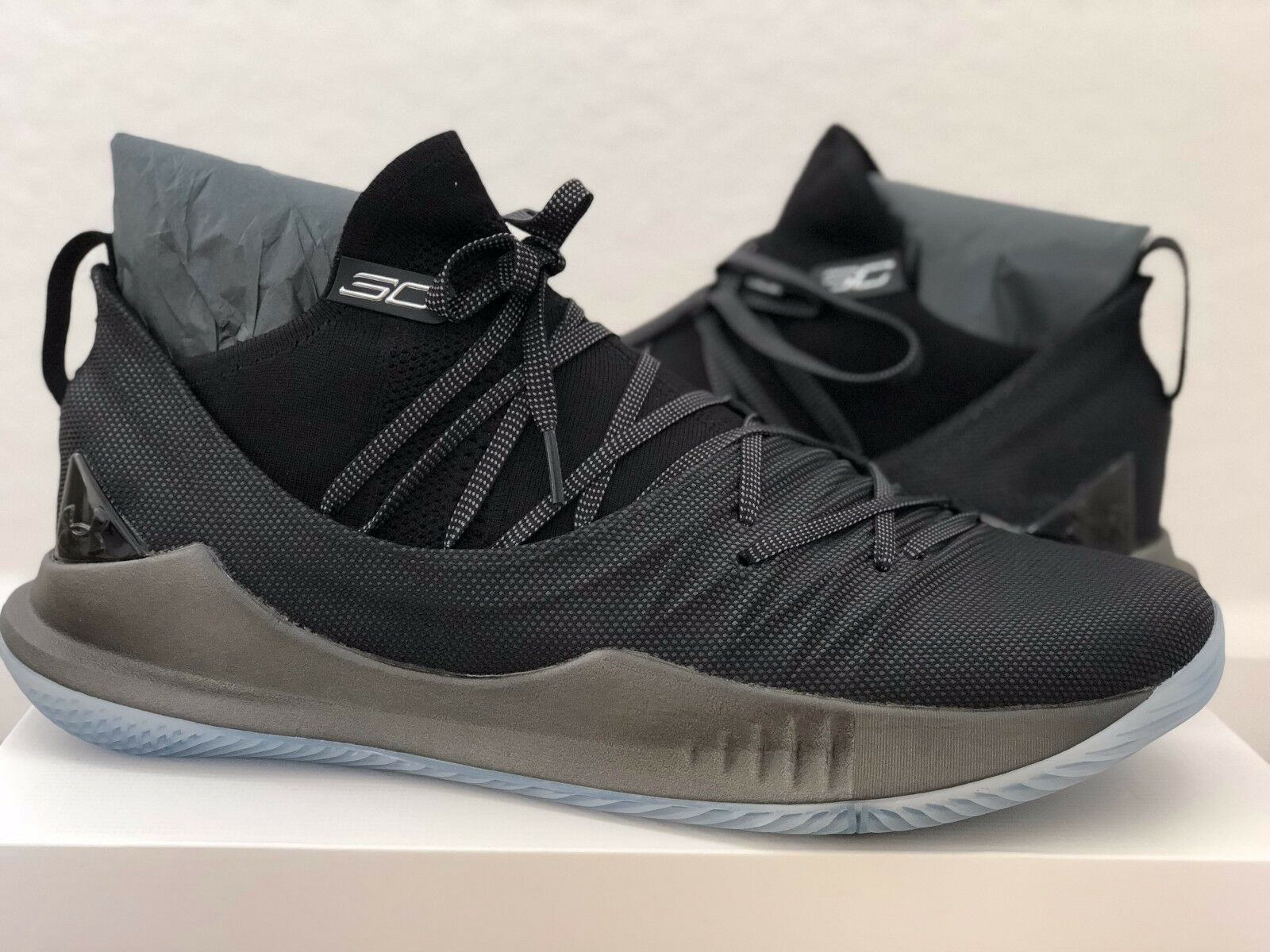 los angeles 2d180 0633c Under Armour UA Curry 5 Basketball Shoes Size 14 Pi Day 3.14