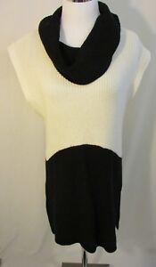 835d5d32b6260c WHITE HOUSE BLACK MARKET Sweater Tunic Top Women s M Cowl Neck ...