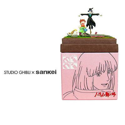 Studio Ghibli mini Paper Craft Kit Howl's Moving Castle 35 Turnip-Head Markl Hee