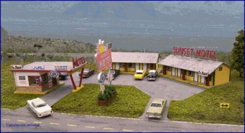 N Scale Sunset Motel Kit by Blair Line FREE US Shipping