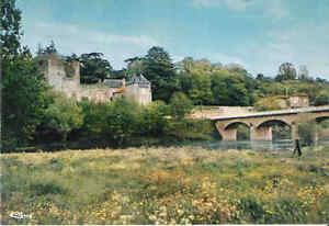 CP-NEUVE-CIVAUX-Chateau-de-la-Tour-au-Cognon-et-le-pont