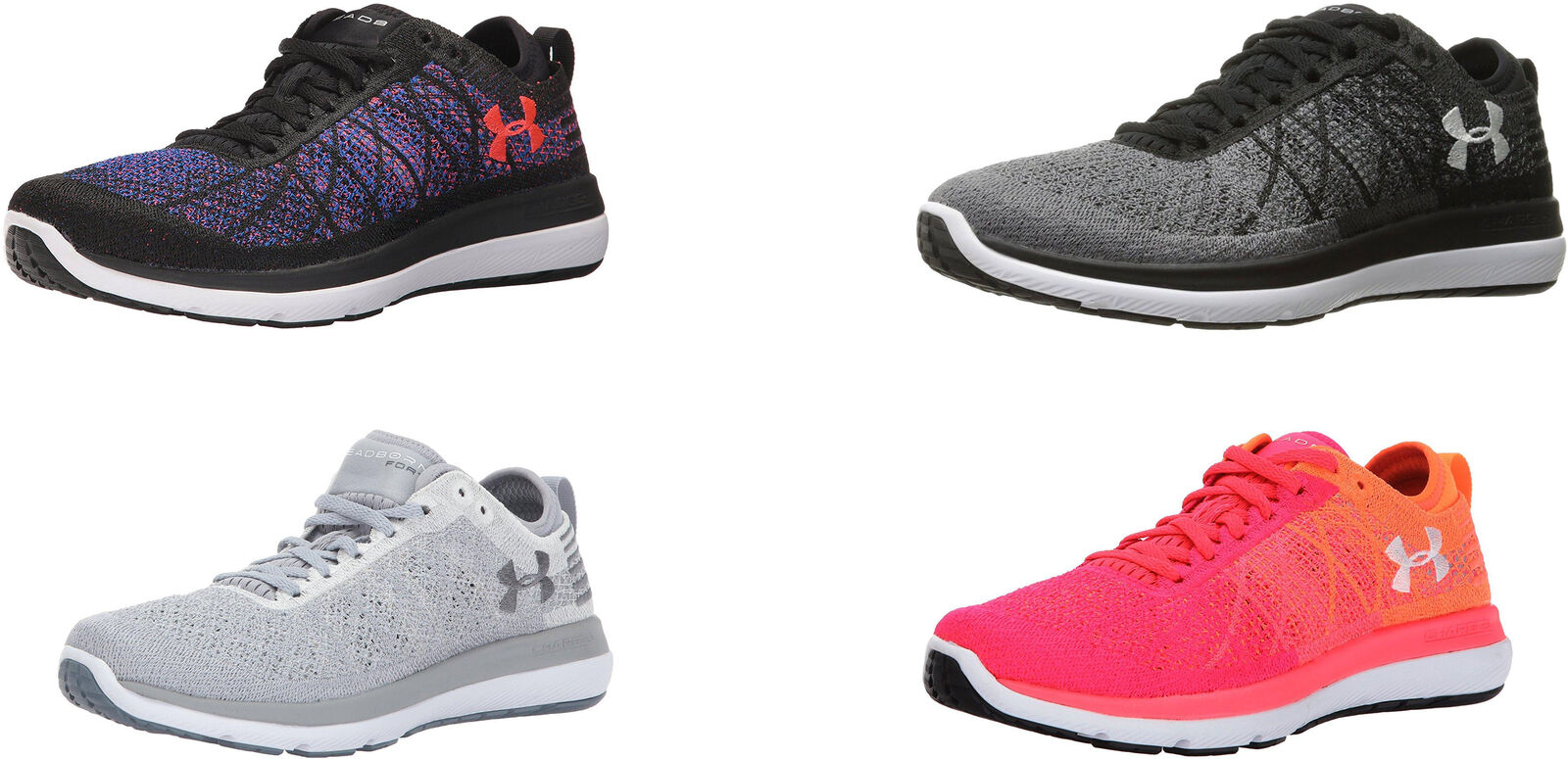 Under Armour Women's Threadborne Fortis 3 Shoes, 4 Colors