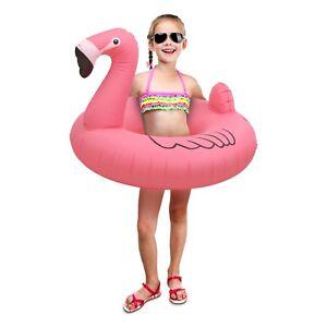 GoFloats-Flamingo-Jr-Pool-Float-Party-Tube-Stylish-Floating-for-Kids