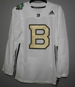 Authentic-Adidas-NHL-Boston-Bruins-Practice-Winter-Classic-Hockey-Jersey-New