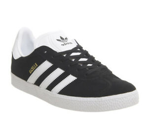cheap for discount 3e101 82335 ... Short-femme-Adidas-Gazelle-Jnr-Baskets-Core-Noir-